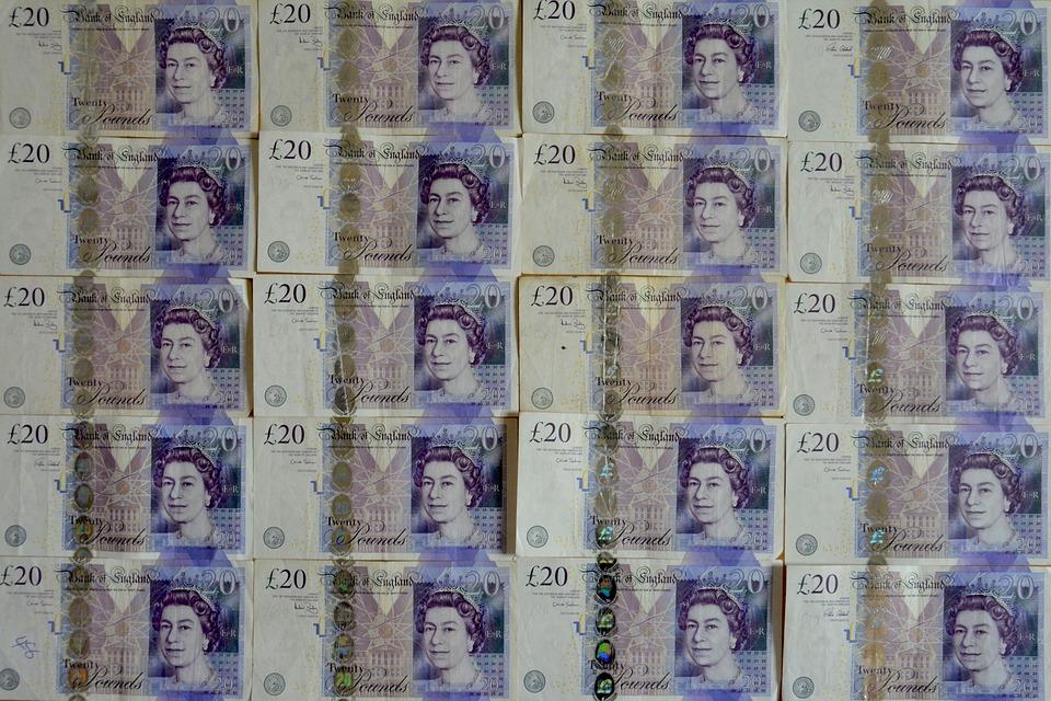 britské libry