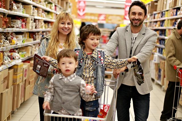 Nakupujete s malými dětmi?