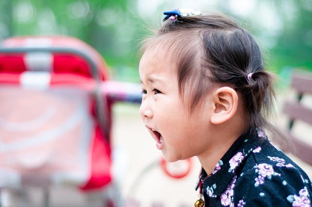 Když se dítě vzteká